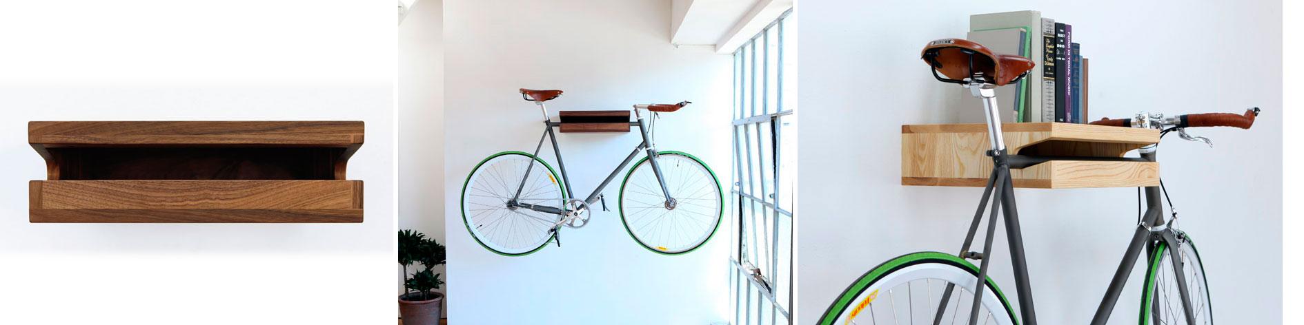 Guardar bicicletas en poco espacio beautiful visto en - Guardar bicicletas en poco espacio ...