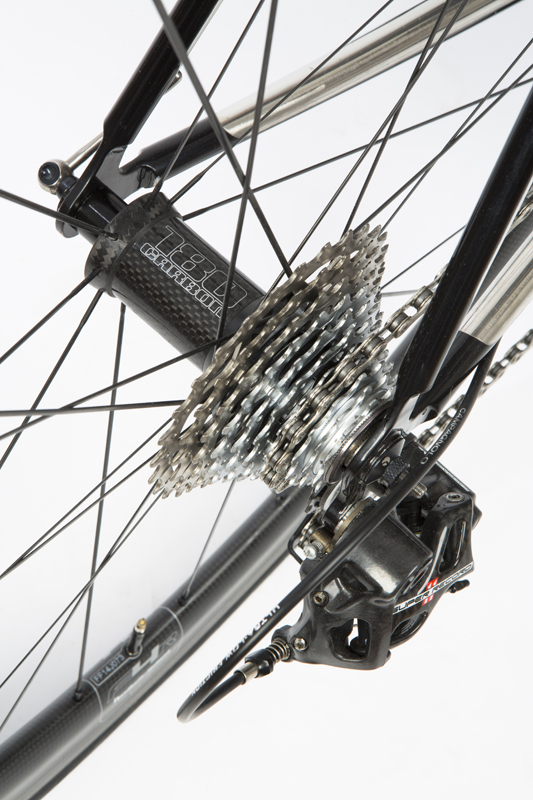 Sven Cycles Reynolds 953 _ 921 handmade bike Fast forward wheels