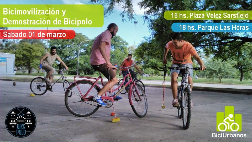 bicimovilización y bicipolo