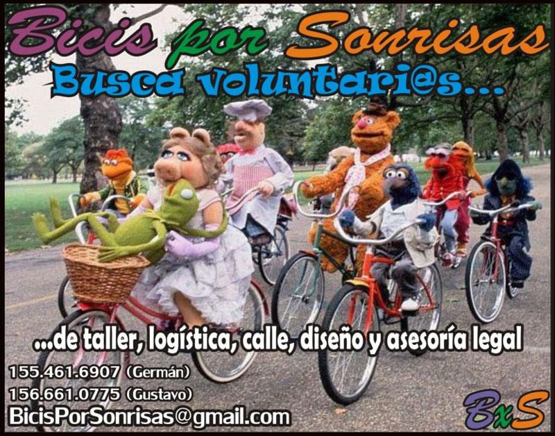 bicis-sonrisas-voluntarios