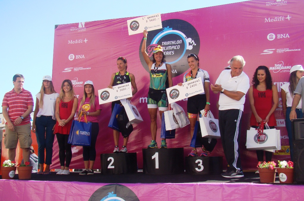 domingo podio femenino