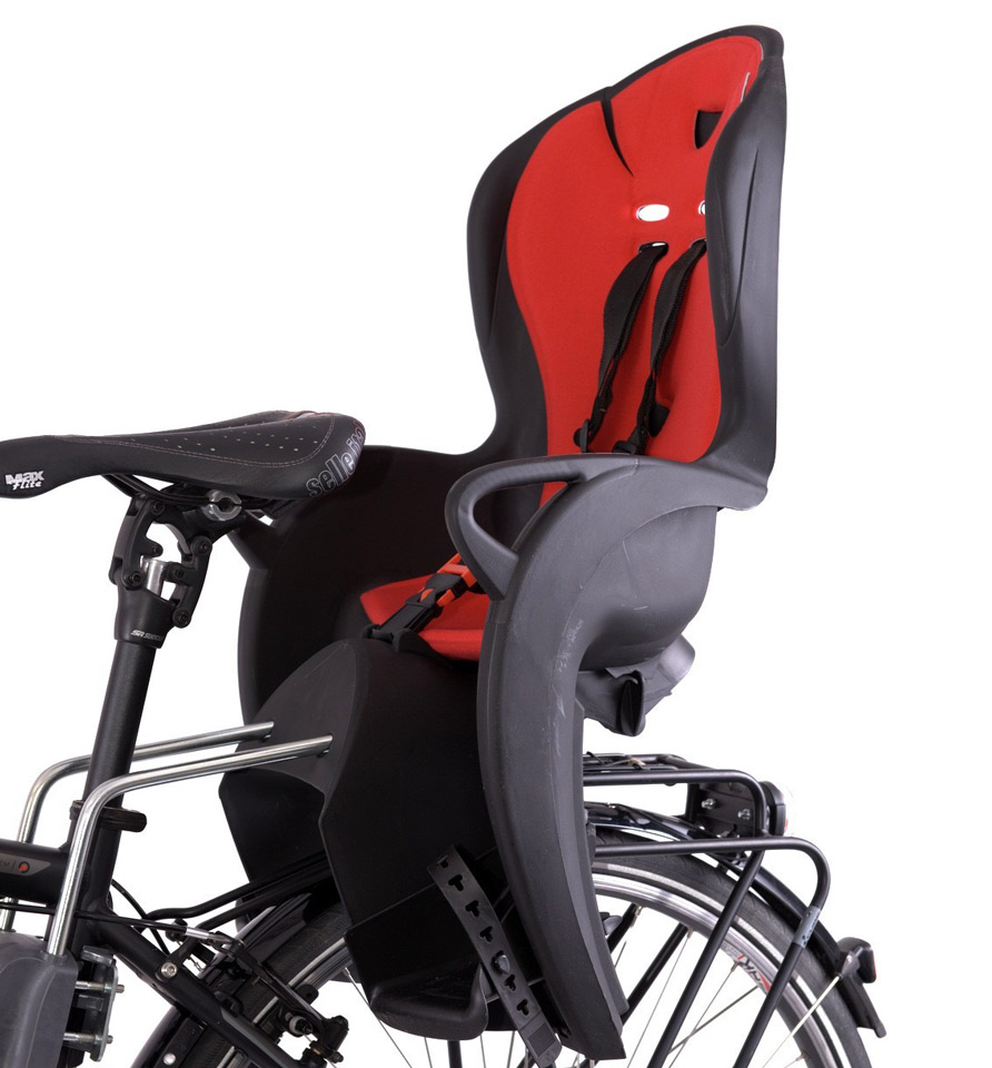 Portabultos y silla portabebe - Silla portabebes bicicleta ...