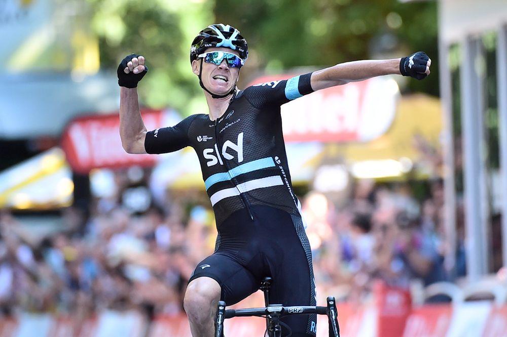 Tour de France 2016 - 09/07/2016 - Etape 8 - Pau/ Bagnères-de-Luchon (184 km) - FROOME Christopher (TEAM SKY) - Vainqueur de l'étape