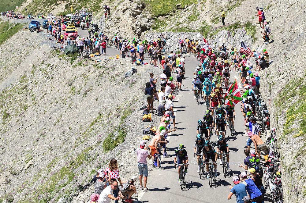 Tour de France 2016 - 09/07/2016 - Etape 8 - Pau/ Bagnère-de-Luchon (184 km) - 2 minutes de retard pour le peloton
